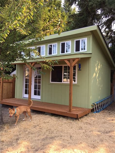 custom built garden shed mother  law home playhouse