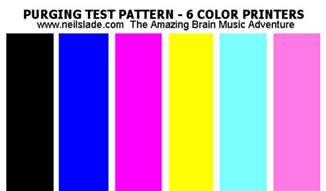 printer color test photo inkjet printers ink and paper review canon epson