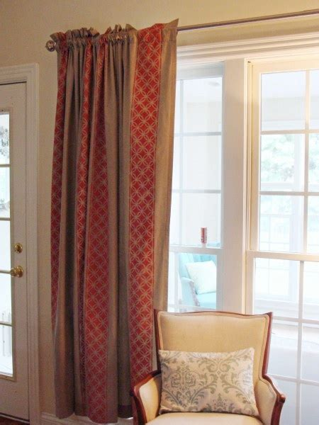 stencil curtains diy stencil curtain crafts to do pinterest