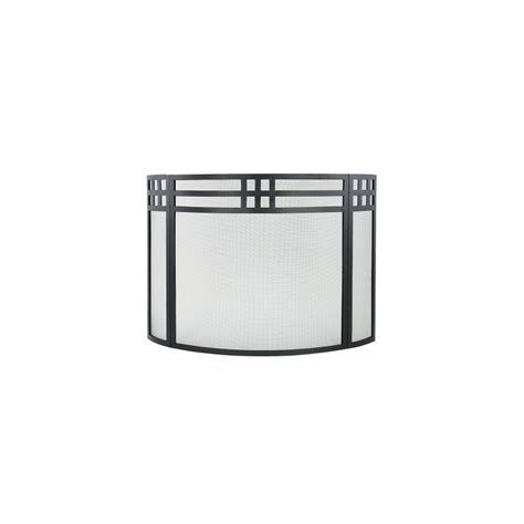 curved fireplace screen gridwork curved folding fireplace screen knobs n knockers
