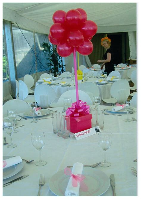 birthday centerpieces for tables balloon table centerpieces balloons and