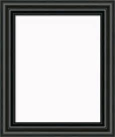Black picture frame home design ideas