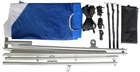 foldable boat kit portable foldable travel sail kit for diy sailing project