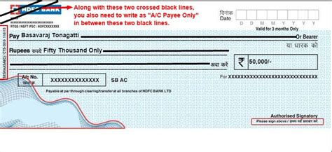 cheque bank account what is account payee cheque and crossed cheque