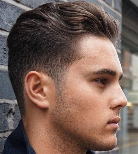 haircut short around ears and tapered in the back 45 classy taper fade cuts for men