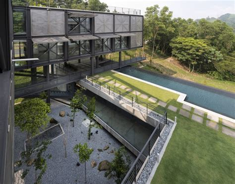 cantilever house cantilever house design unit sdn bhd archdaily