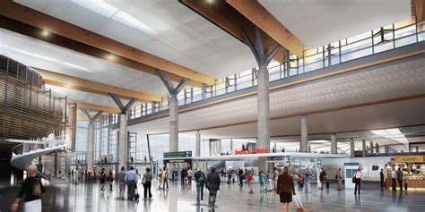 designboom airport oslo international airport expansion by nordic office