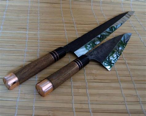 japanese handmade kitchen knives japanese kitchen knives by tc blades gift ideas pinterest