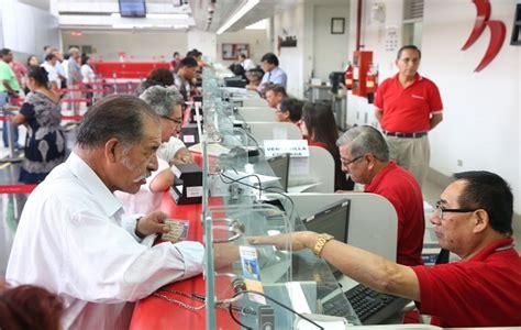 banco de la nacion pago pensiones banco de la naci 243 n atender 225 en horario especial para pago