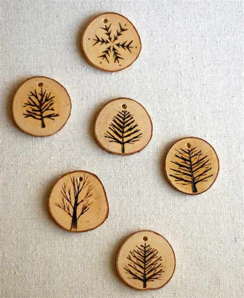tree branch christmas ornaments for the eco conscious