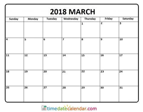 time calendar template 2018 march calendar 2018 malaysia free printable calendar