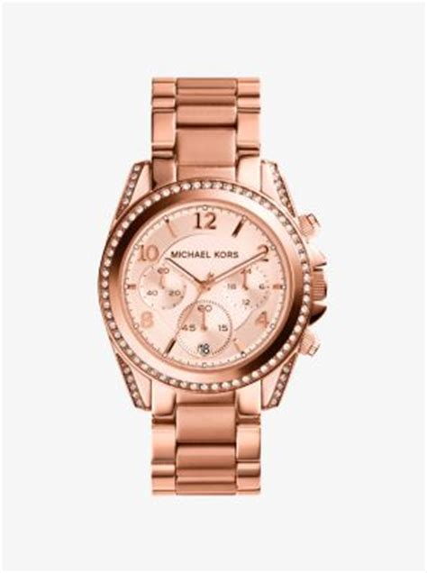 Mk5639 Michael Kors Blair Gold Tone Stainless Steel blair gold tone stainless steel chronograph