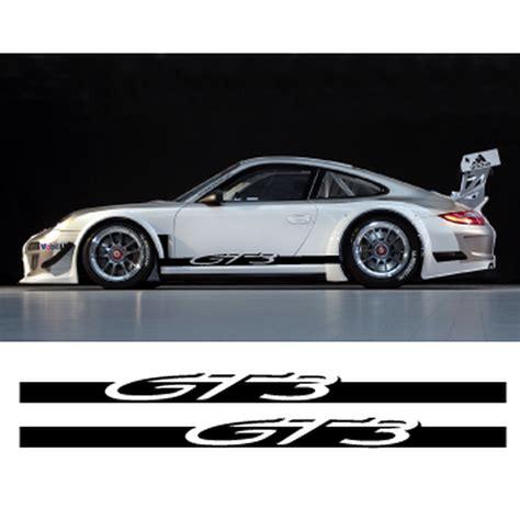 Porsche Aufkleber by Porsche 911 Gt3 Side Stripes Decals Set