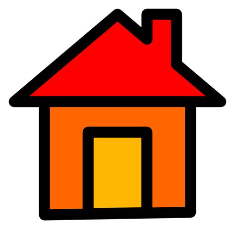 art home onlinelabels clip art home icon