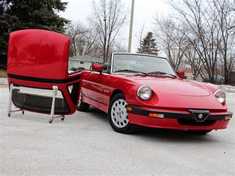 Alfa Romeo Spider Quadrifoglio For Sale 1988 Alfa Romeo Spider Quadrifoglio 5 Spd All The