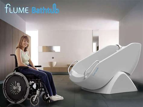 wheelchair bathtub wheelchair accessible showers flume bathtub