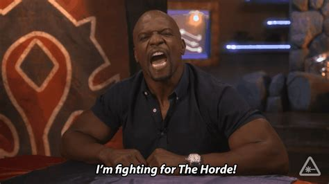 terry crews horde terry crews joined us to battle for azeroth on our newest