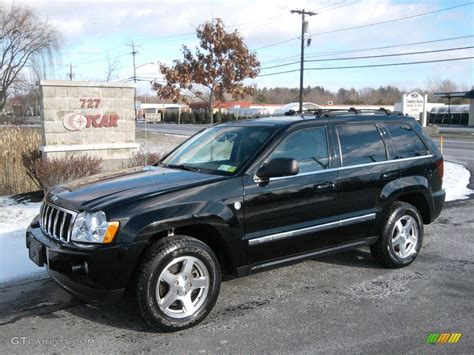 jeep limited black 2006 black jeep grand cherokee limited 4x4 41631777 photo
