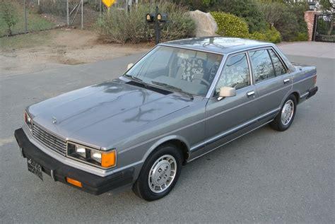 nissan datsun 1982 1982 datsun maxima nissan gl 2 6cyl 1 owner 240z sedan 81k