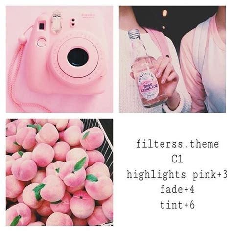 cute themes for instagram 25 best images about pink theme instagram feed vsco cam