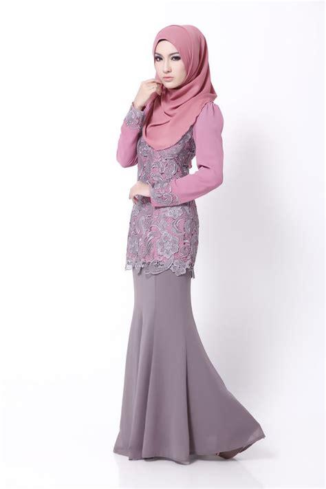 design baju lace prada lace pink grey carya zara kurung pinterest