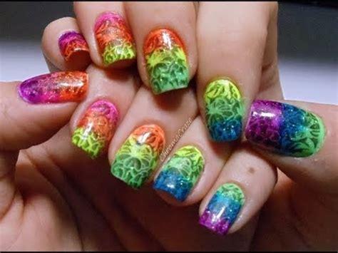 Imagenes De Uñas Acrilicas De Colores | fotos de u 241 as acrilicas de colores youtube
