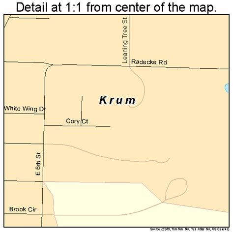 krum texas map krum texas map 4839928