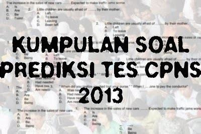 latihan soal cpns 2016 ujiancpnscom upt tk sd kecamatan medan belawan download soal tes tkd