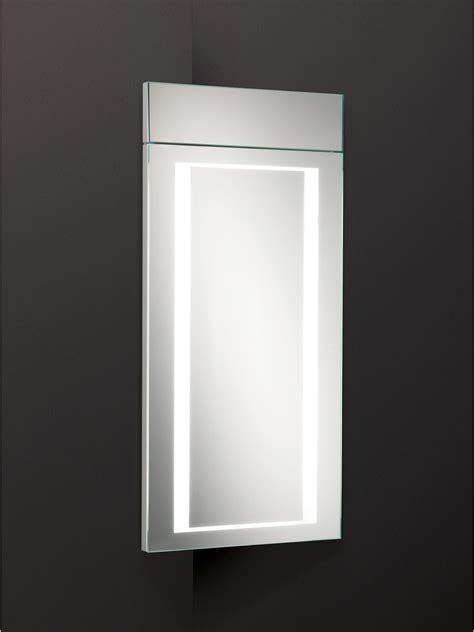 hib minnesota illuminated bathroom mirror corner cabinet hib minnesota led back lit illuminated corner cabinet 300