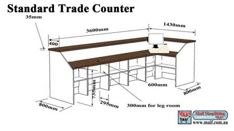 Large Desks by Trade Counter Workshop Counter Bulky Goods Counter