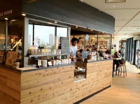 coffee shop kiosk design be a good neighbor coffee kiosk in tokyo sky tree tokyo