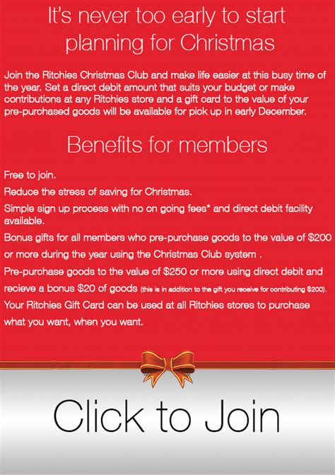 Iga Gift Card Balance - ritchies christmas club ritchies supermarkets