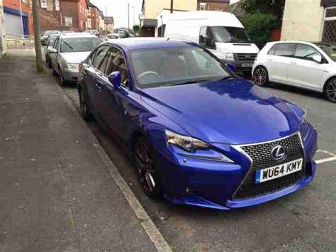 lexus sports car blue lexus 2014 64 is 300h f sport auto blue car for sale