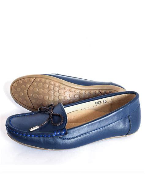 Venus Navy quot venus quot navy blue premium moccasin shoes maverickshoes