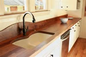 Wood Kitchen Countertops by 58 Cozy Wooden Kitchen Countertop Designs Digsdigs