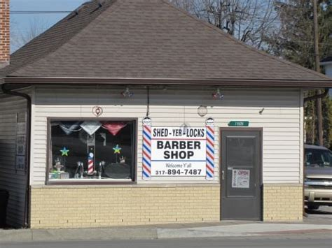 Shed Barbershop by Shed Yer Locks Barber Shop Barbers 11926 E Washington