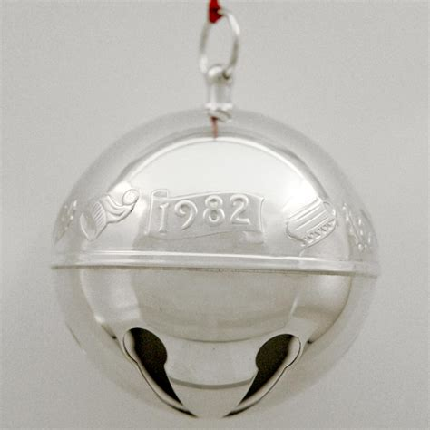 wallace silver bell 2018 1982 wallace sleigh bell silverplate ornament sterling collectables