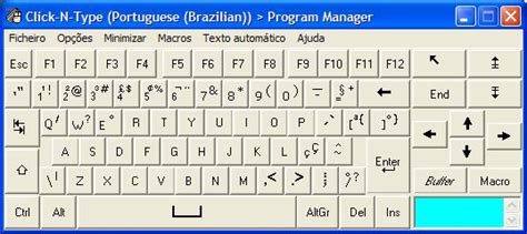 us keyboard layout vs portuguese click n type language packs