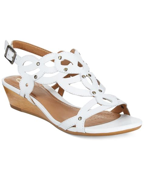 clarks artisan wedge sandals clarks artisan s playful tunes wedge sandals in