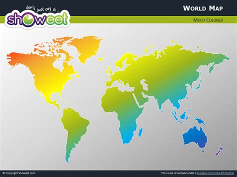 Free World Map For Powerpoint World Map Ppt