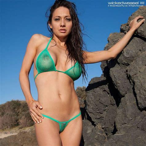 women in see through bikinis sarah h05 wiked weasel micro pinterest