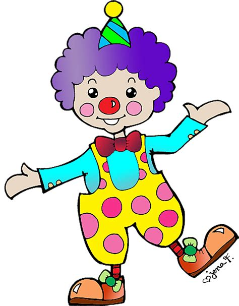 clown clipart aimless daze clowning around