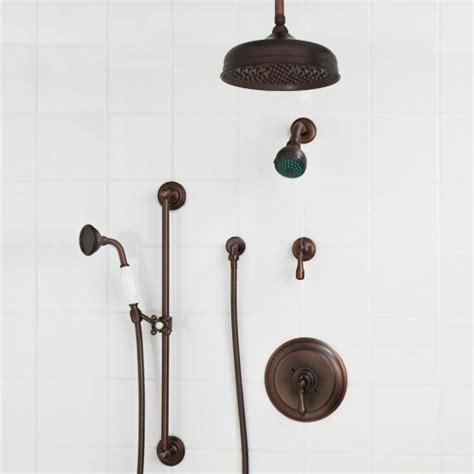 pressure balance shower system rainfall shower