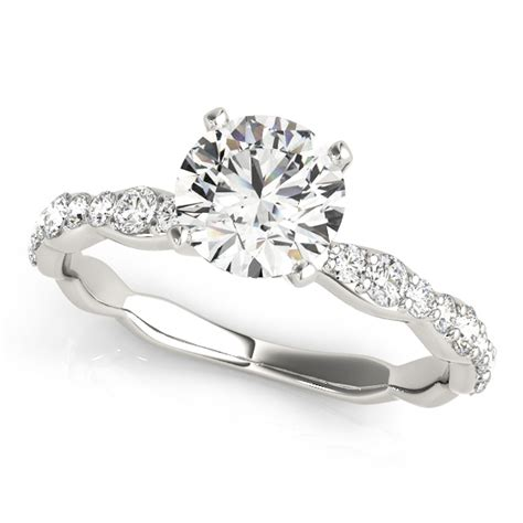Petite   Engagement Rings from MDC Diamonds NYC