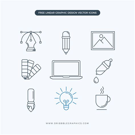 linear layout web design free linear graphic design vector icons dribbble graphics