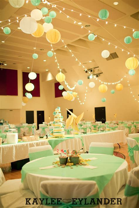 DIY Circus theme Wedding Reception   Bethany Assembly