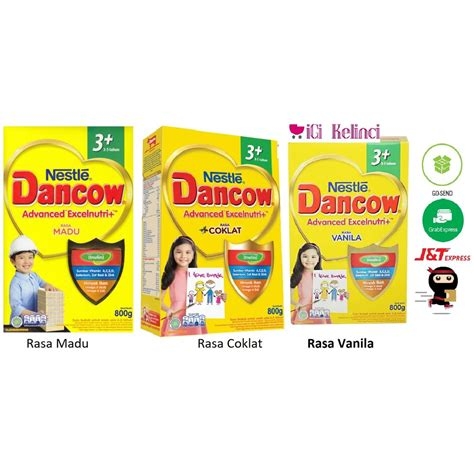 Nestle Dancow 3 800gr dancow 3 madu vanila coklat 800gr shopee indonesia