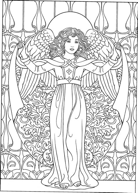 coloring pages of angels for adults beautiful angel coloring page adult colouring fairies