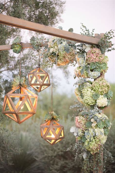 35 Trendy Geometric Wedding Décor Ideas   Weddingomania
