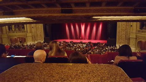 chicago theatre section booth row  seat